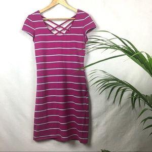 Decree Striped Pink/Fuschia Dress